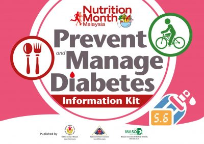 Prevent and Manage Diabetes Information Kit