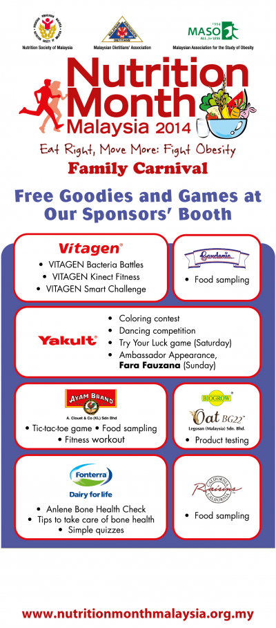 Free Goodies & Games at Sponsor's Booth