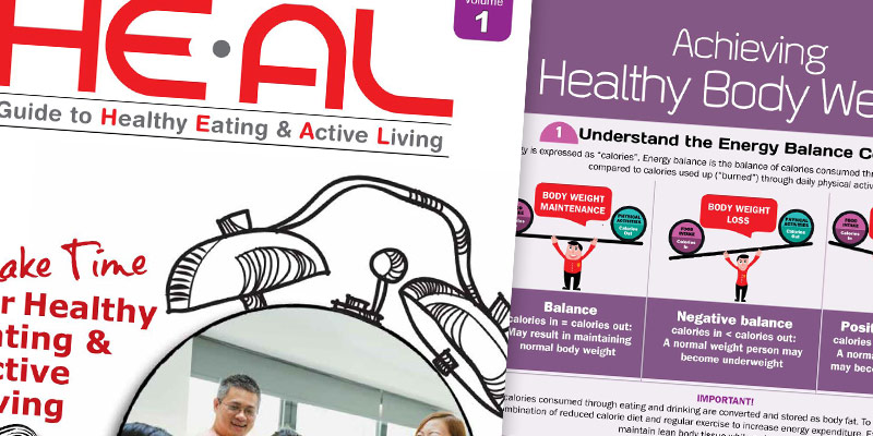 HE-AL: Guide to Healthy Eating & Active Living Publication