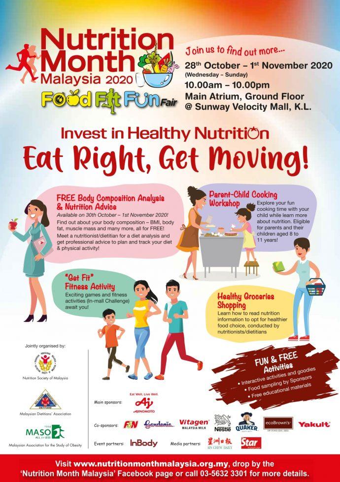 Food-Fit-Fun Fair 2020 Flyer