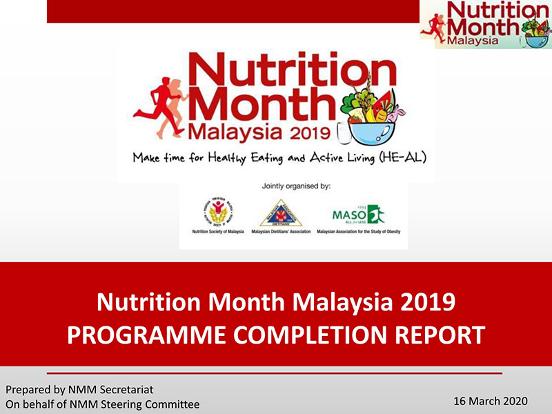 Nutrition Month Malaysia 2019 Event Report
