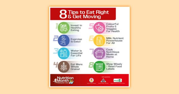 8 Tips to Eat Right & Get Moving
