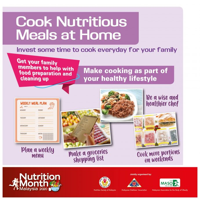 Invest some time to cook everyday for your family.