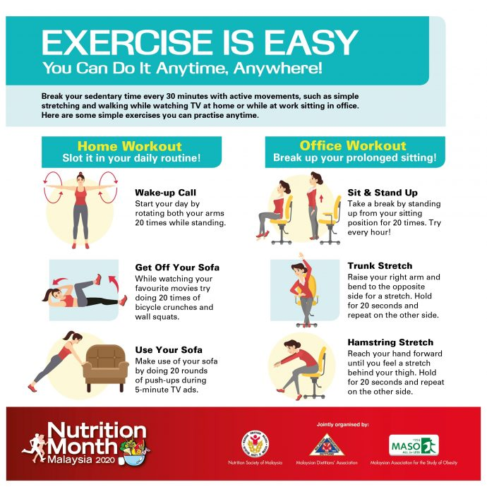 Home Workout and Office Workout