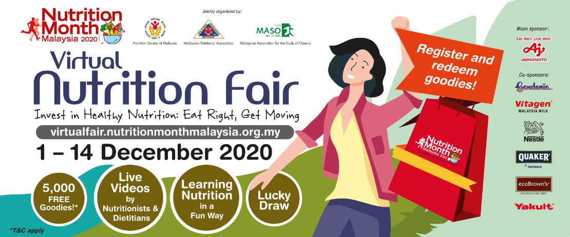 Virtual Nutrition Fair - 1 to 14 December 2020